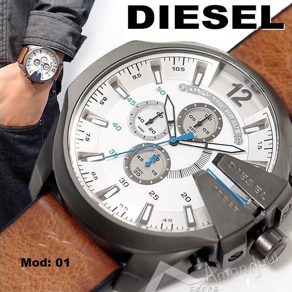 4dfc85b9104dd Relógios Masculinos diesel de luxo Modelos 2015 Frete Grátis